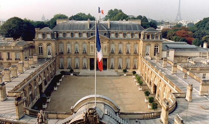 Palatul Elysée, sediul presedintiei franceze, unul dintre cele mai vizitate monumente în zilele Patrimoniului