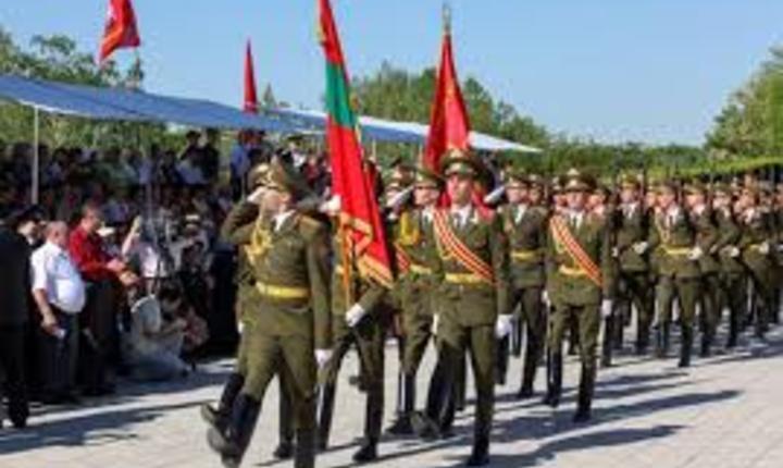 Paradă militară la Tiraspol