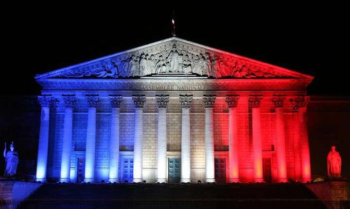 Palatul Bourbon, sediul parlamentului francez