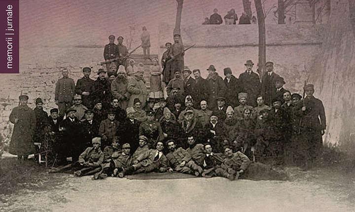 """Concurs: Fragment din coperta cartii: """"Parlamentul în pribegie. 1916-1918. Amintiri, note și impresii"""", de Grigore Procopiu."""