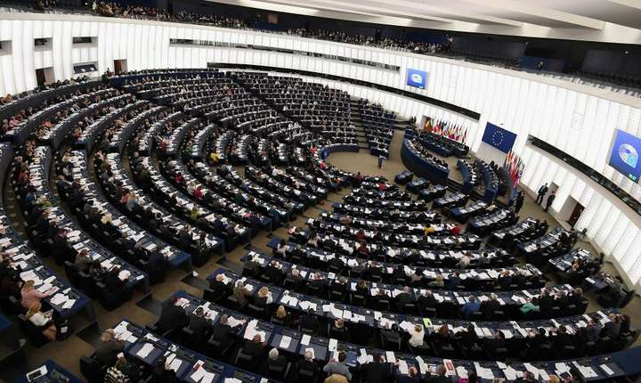 Parlamentul European, Strabourg.