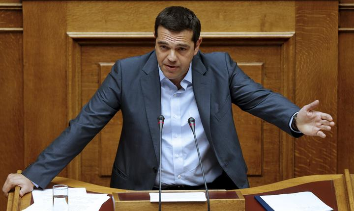 Premierul grec, Alexis Tsipras (Foto: Reuters/Christian Hartmann)