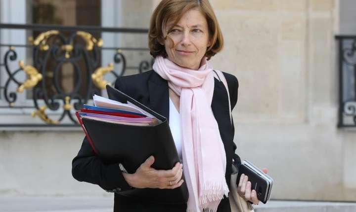 Ministrul francez al apărării, Florence Parly