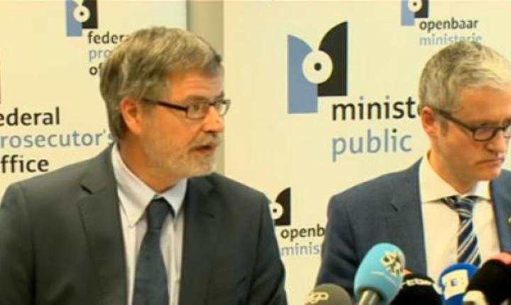 Conferinta de presa a parchetului federal belgian