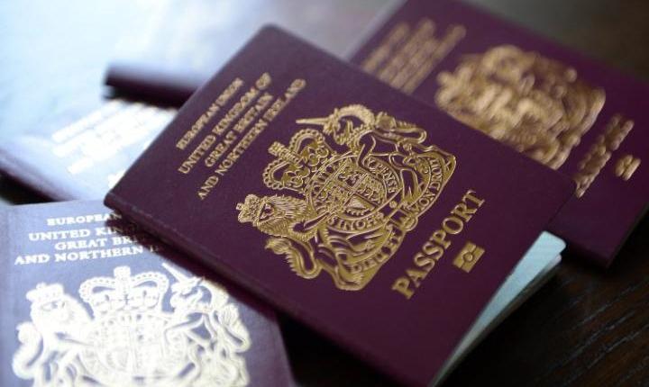 Pașaport britanic