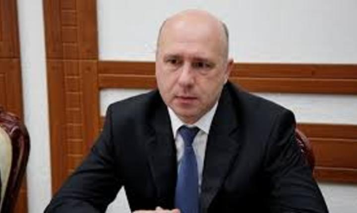 Premierul moldovean Pavel Filip este in vizita la Bucuresti
