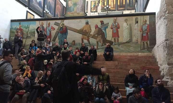 Pelerini români în Israel