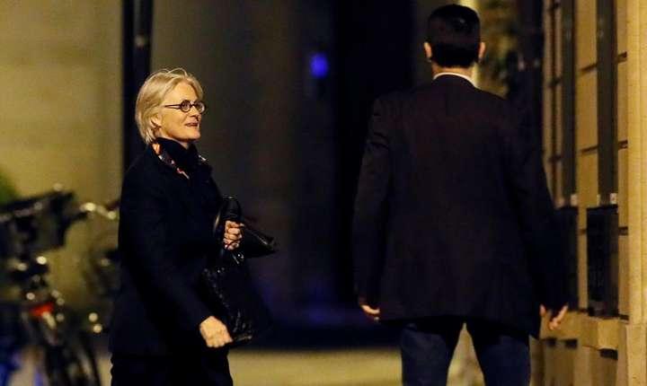 Penelope Fillon, 28 martie seara, dupa audierea in afacerea slujbelor fictive