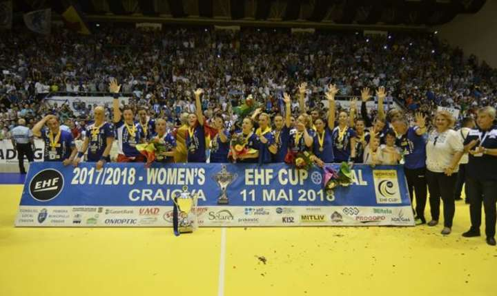 SCM Craiova a câştigat Cupa EHF (Sursa foto: scmcraiova.ro)