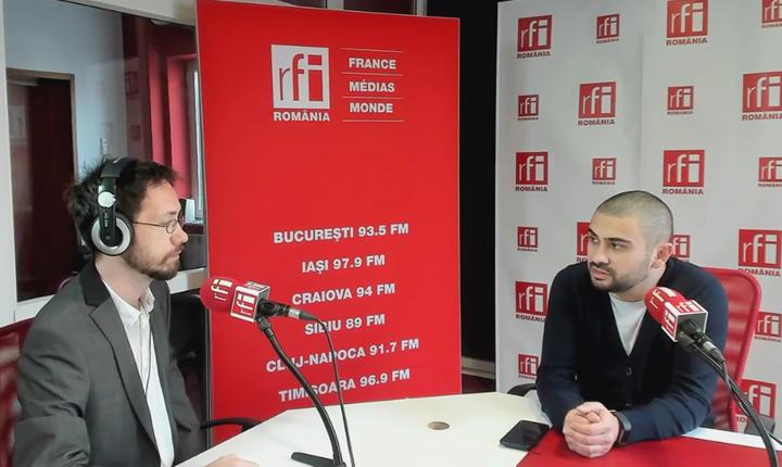 Petre Florin Manole, în studioul RFI