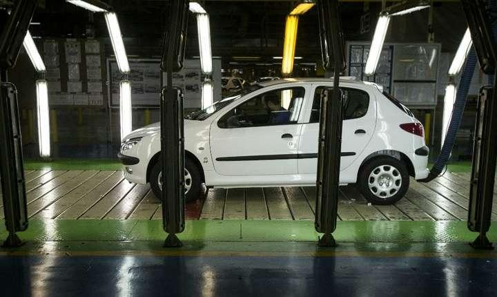 Peugeot 206 este unul din modelele PSA foarte bine vândut în Iran