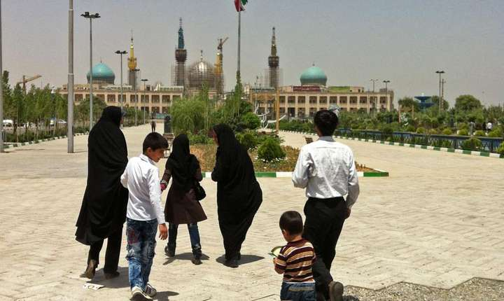 Mausoleul ayatolahului Khomeini la Teheran