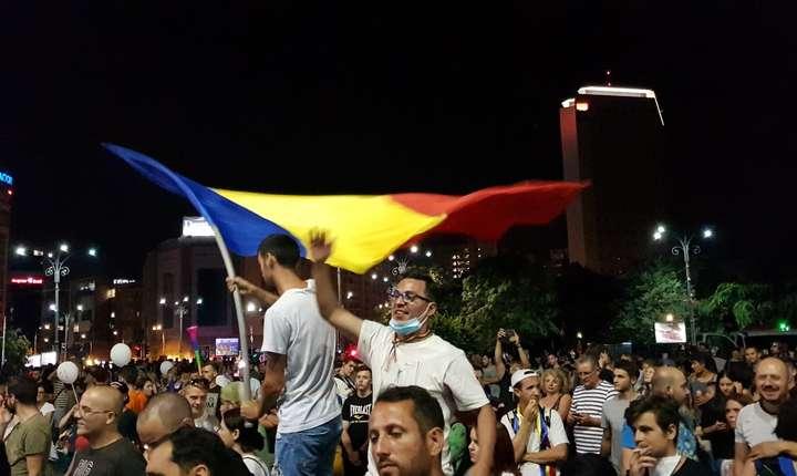 Aproximativ 20.000 de oameni au participat la protestul din 19 august 2019
