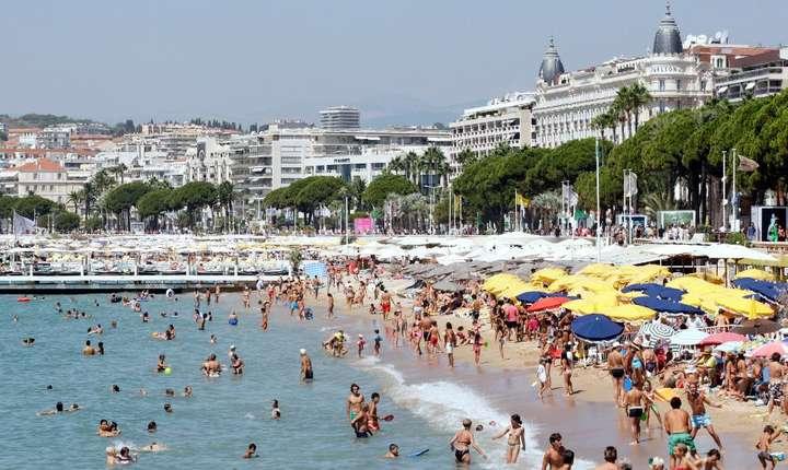 Plaja de la Cannes, Coasta de Azur