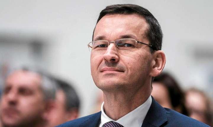 Premierul plonez Mateusz Morawiecki