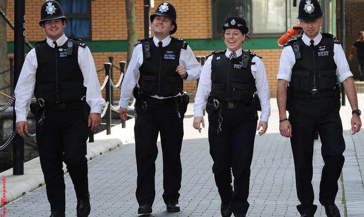 Polițiști la Londra