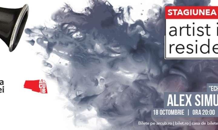 Afiș Alex Simu Quintet, ARCUB 2018