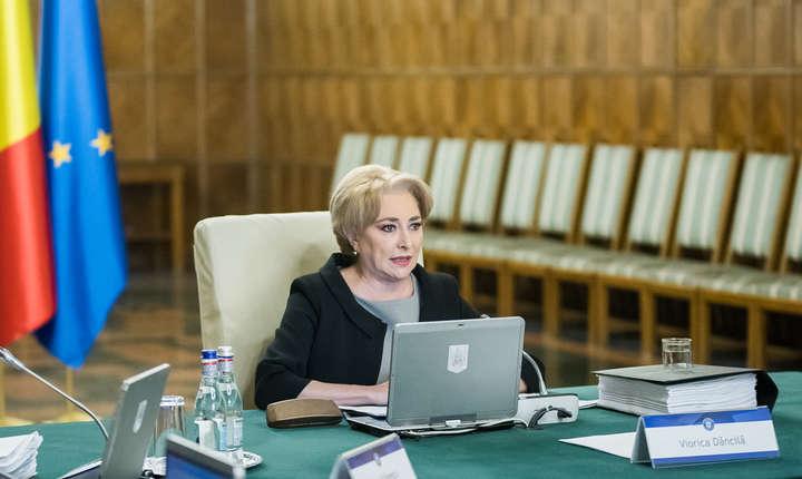 Viorica Dăncilă aşteaptă lămuriri de la Comisia Europeană (Sursa foto: site Guvern)