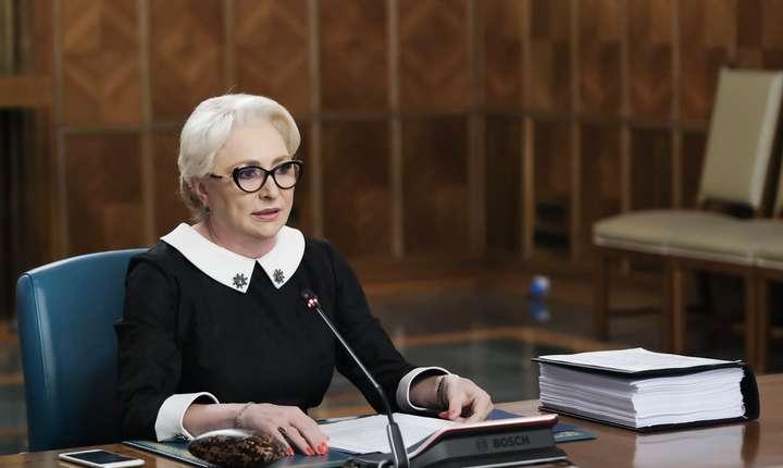 Viorica Dăncilă a renunțat la colaborarea cu Anca Alexandrescu (Sursa foto: gov.ro)