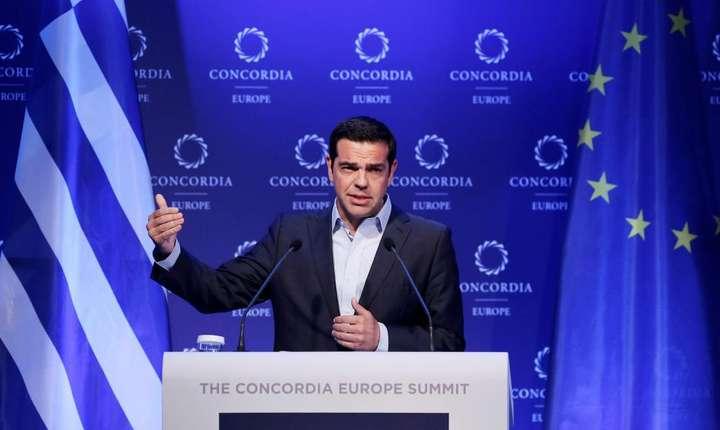 Premierul Greciei - Alexis Tsipras, 7 iunie 2017 la Atena