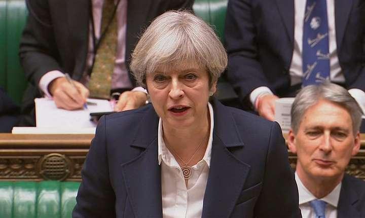 Premierul Marii Britanii, Theresa May a anuntat lansarea procedurii Brexit în Parlamentul de la Westminster, 29 martie 2017