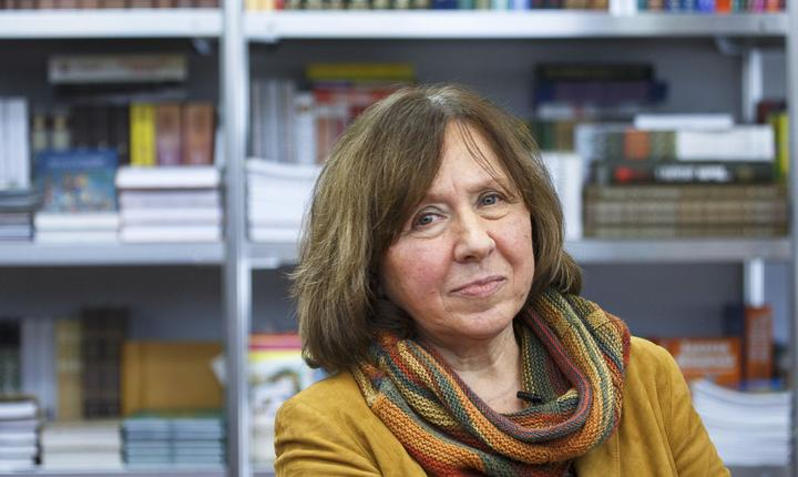Scriitoarea Svetlana Alexievich (Foto: Reuters/arhivă)