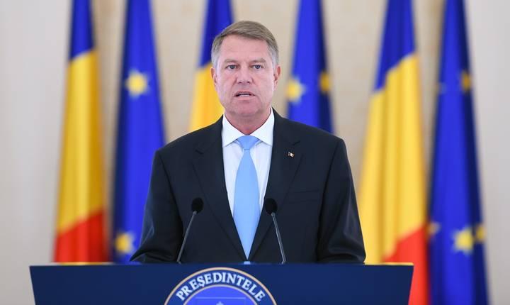 Preşedintele Klaus Iohannis critică OUG pe justiţie (Sursa foto: presidency.ro)