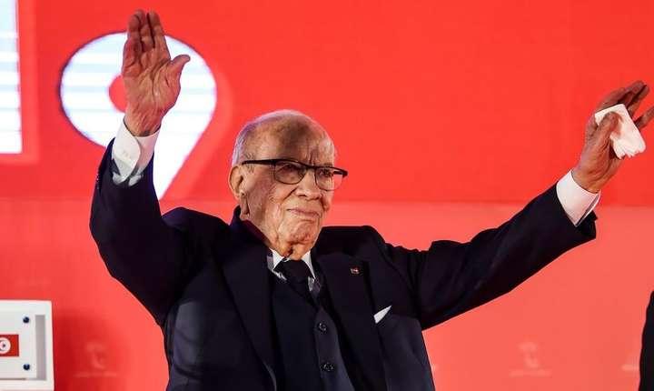 Beji Caid Essebsi, primul președinte al Tunisiei ales în mod democratic, a murit (Sursa foto: Fethi Belaid/AFP)