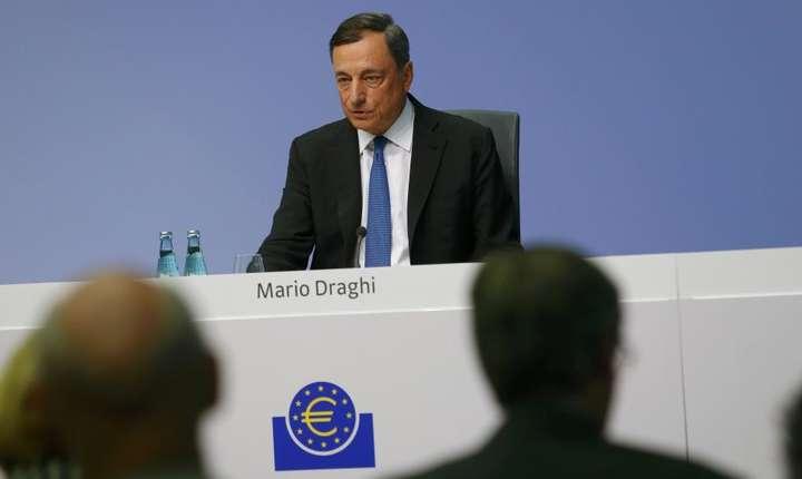 Presedintele Bancii Centrale Europene, Mario Draghi atentioneaza ca daca euro va continua sa creasca s-ar declansa 'alerta generala' în zona euro