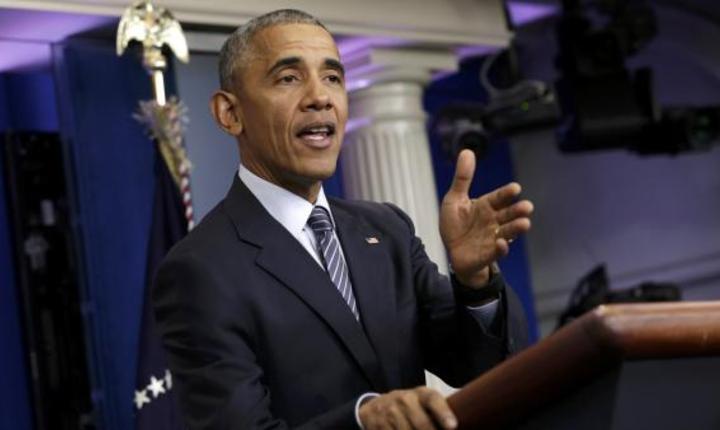 Presedintele Barack Obama în conferinta de presa la Casa Alba, 14 noiembrie 2016