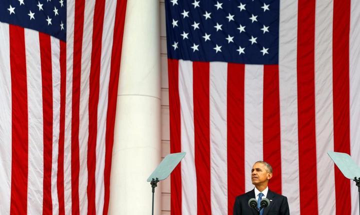 Presedintele SUA - Barack Obama in Virginie pe 11 noiembrie 2016