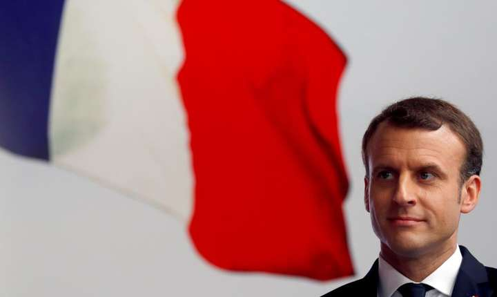 Presedintele Frantei, Emmanuel Macron