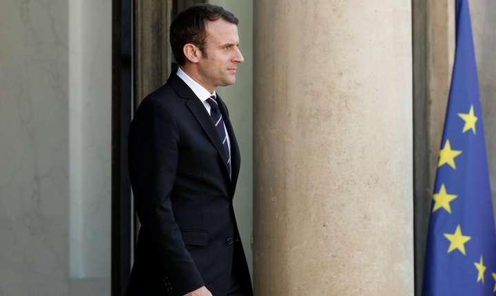 Presedintele Frantei, Emmanuel Macron la Palatul Elysée