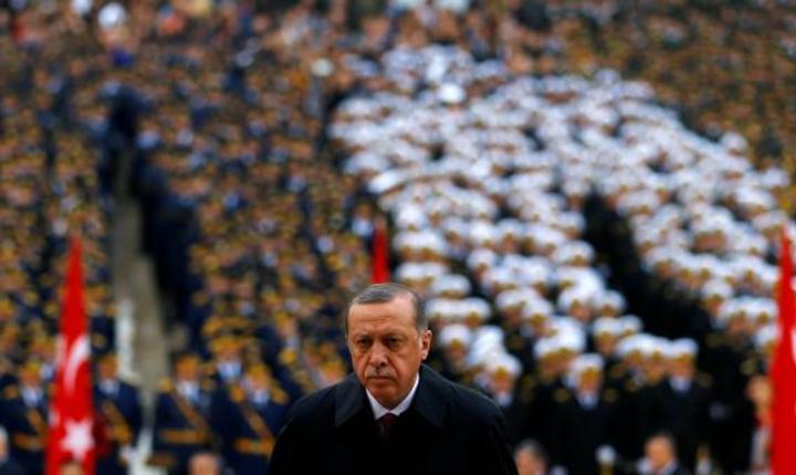 Presedintele Recep Tayyip Erdogan pe 29 Octombrie 2016