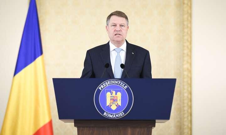 Preşedintele Klaus Iohannis consideră că Executivul a greşit în privinţa OUG privind Codul Penal (Sursa foto: www.presidency.ro)
