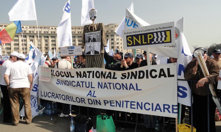 Sindicaliștii sunt nemulțumiți de faptul că lucrează în aceleaşi condiţii ca și deţinuţii