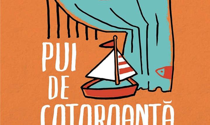 Fragment din coperta cartii Pui de cotoroanta, volum publicat de editura Humanitas Fiction