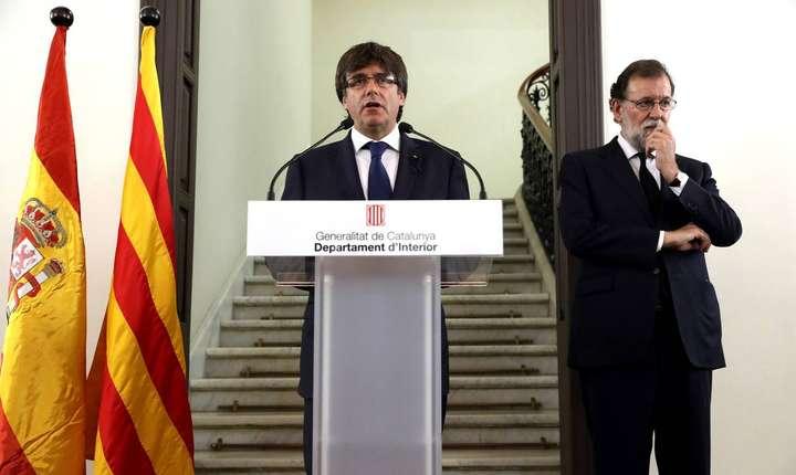 Guvernul de la Madrid nu acceptă declaraţia de independență şi nu consideră referendumul sau rezultatul lui valide