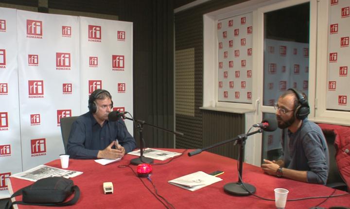 Laurentiu Colintineanu si Andrei Manolescu la Punerea pe Ganduri in studioul RFI Romania