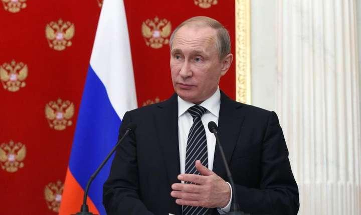 Vladimir Putin la Kremlin, august 2016