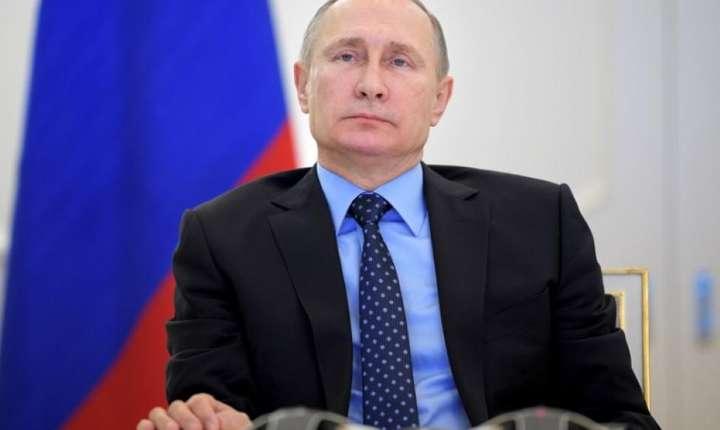 Presedintele Rusiei, Vladimir Putin, pe 29 decembrie 2016
