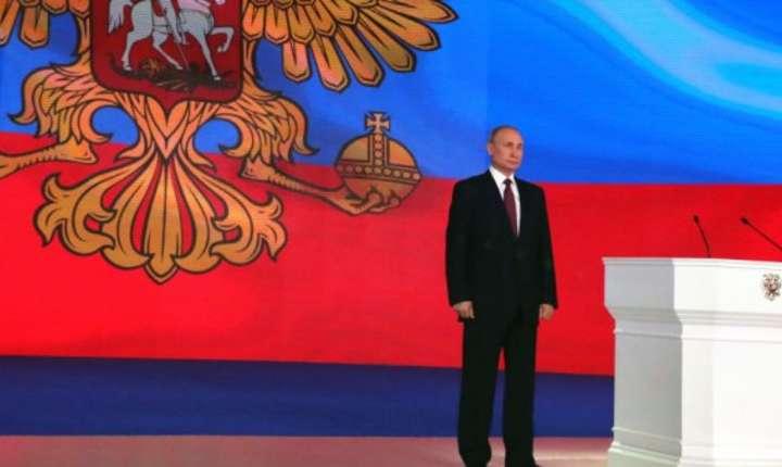 Vladimir Putin, presedintele Rusiei, s-a adresat parlamentului de la Moscova pe întâi martie 2018