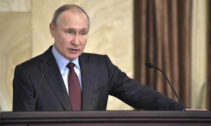Vladimir Putin la sediul FSB, martie 2018