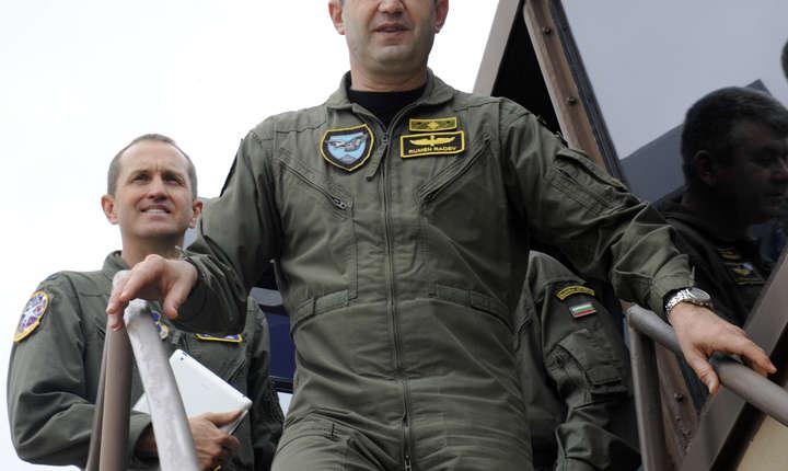 Președintele Bulgariei, Rumen Radev, a fost membru al forțelor aeriene bulgare din 1987 până în 2016