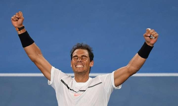 Rafael Nadal va juca în semifinalele Australian Open (Foto: AFP/Greg Wood)