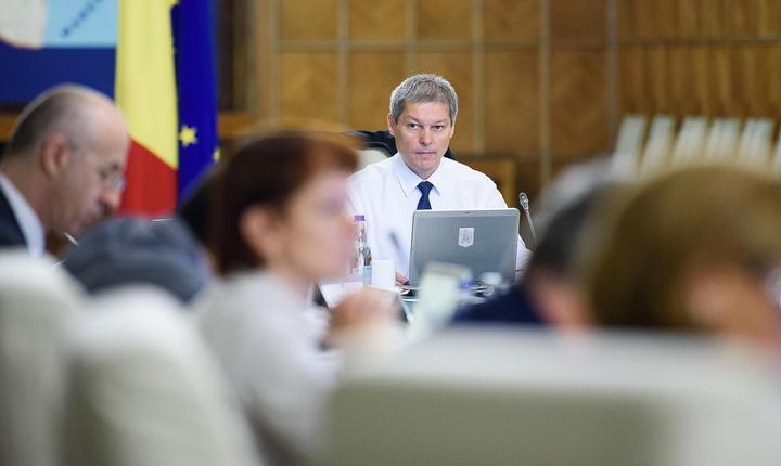 Şedinţă de Guvern (Foto: www.gov.ro)