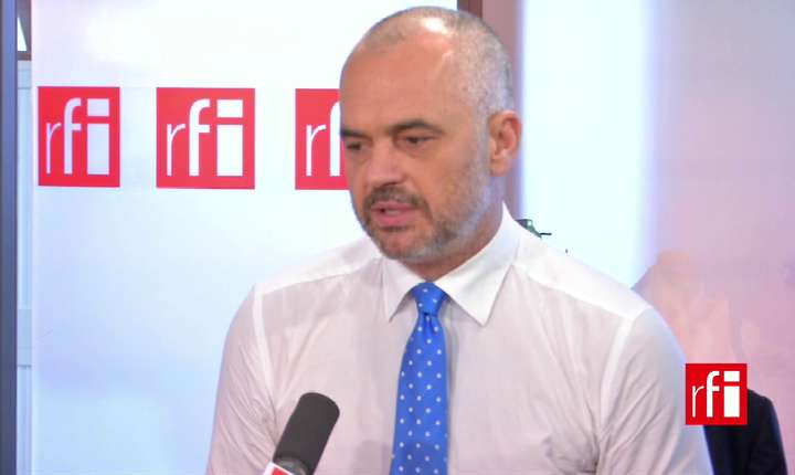 Edi Rama, premierul socialist al Albaniei, e îngrijorat de influenta crescândà a rusilor în Balcani