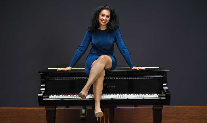 Pianista Ramona Horvath participà pentru a doua oarà la festivalul Jazzycolors
