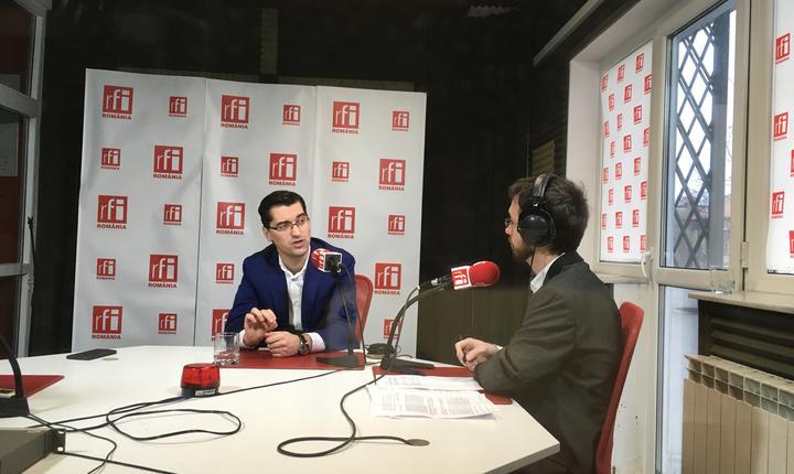 Preşedintele FRF, Răzvan Burleanu, în studioul RFI