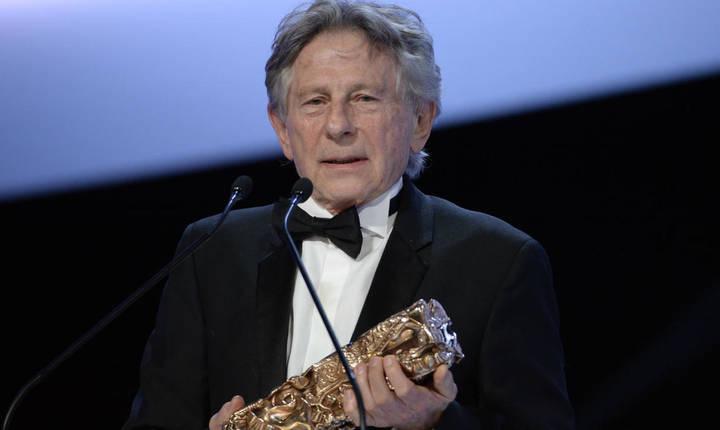 Realizatorul Roman Polanski în cadrul ceremoniei de înmânare a premiilor César în  2014.